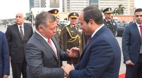 ملك الأردن يغادر عمان متوجها إلى القاهرة