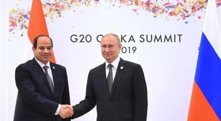 """40 رئيسا يشاركون في قمة """"روسيا – أفريقيا"""" برئاسة السيسي وبوتين.. الأسبوع المقبل"""