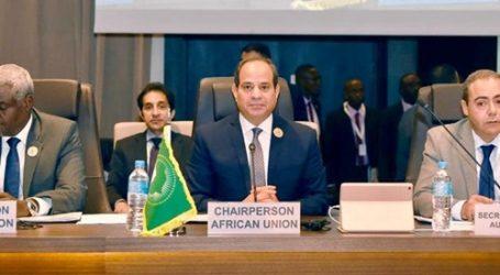 رسائل رؤساء تشاد وجنوب السودان ومفوضية الاتحاد الأفريقي للسيسي
