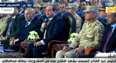 السيسي للمصريين: نجحوا التأمين الصحي عشان هينقل حياتنا