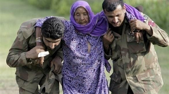 صورة الباكستانية التي تحولت إلى سورية في الدعاية التركية (أ ب)
