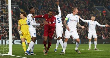 ليفربول يتقدم على جينك بهدف فى الدقيقة 14 بدوري أبطال أوروبا.. فيديو