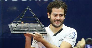 مدرب كريم عبد الجواد بعد التتويج ببطولة مصر للاسكواش: هدفنا التصنيف الأول