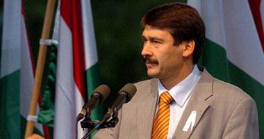 رئيس جمهورية المجر يصل مطار القاهرة فى زيارة لعدة أيام