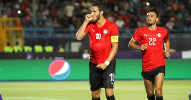 رمضان صبحى يحرز هدف المنتخب الأولمبى الثانى أمام غانا والنتيجة 2/2