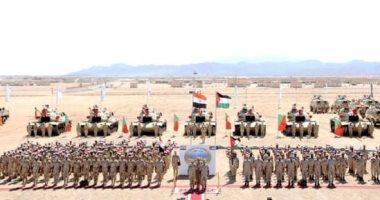 """انطلاق فعاليات التدريب المصرى الباكستانى الأردنى المشترك """"فجر الشرق 1"""""""