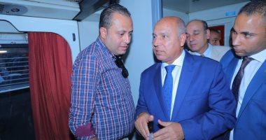 وزير النقل يلتقى قيادات السكة الحديد لبحث طلب إبقاء إدراتهم لمول محطة مصر