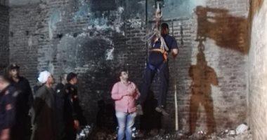 أمين الشرطة المصاب خلال نجدة قطة: مهمتنا إنقاذ أى روح حتى لو كلفتنا حياتنا
