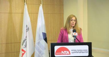 الأكاديمية الوطنية للتدريب تستقبل السفير الفرنسى ستيفان روماتيه