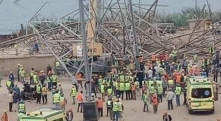 حبس مقاول و3 مشرفين في حادث انهيار برج كهرباء أوسيم