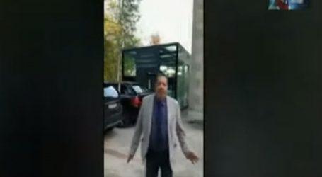 بالفيديو.. مواطن مصري يفضح الإخوان بجنيف: «خونة وخوافين»