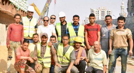 الرئيس السيسي يتفقد عددا من المشروعات بمنطقة مصر الجديدة(فيديو)