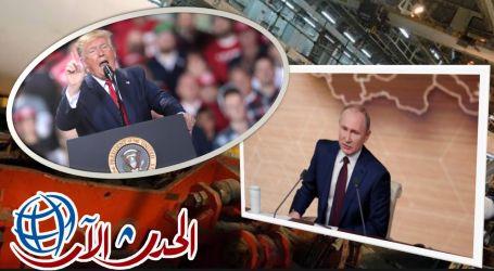 """""""ترامب """" بفرض عقوبات على الشركات المساهمة في بناء خط أنبوب الغاز الروسي السيل الشمالي 2.. تقرير"""