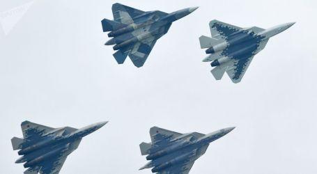 """روسيا تعلن تطوير أسلحة جديدة لمقاتلات الجيل الخامس """"سو- 57"""""""