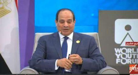 """السيسي للمشاركين بـ""""شباب العالم"""": سعداء بتواجدكم معنا على أرض مصر"""