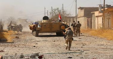 سقوط قذيفتى هاون على قاعدة عسكرية بها قوات أمريكية فى كركوك بالعراق