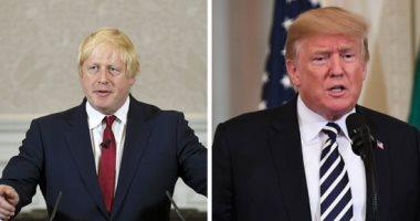 ترامب يهنئ جونسون بالفوز فى الانتخابات البريطانية