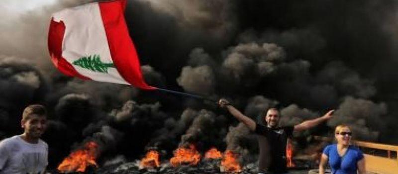 المتظاهرون في لبنان يدعون إلى عصيان مدني وإغلاق الطرق
