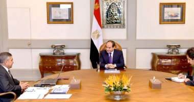 الرئيس عبد الفتاح السيسي يرأس اجتماع مجلس الأمن القومي