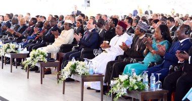 حساب الرئيس السيسى عبر تويتر ينشر صورا من فعاليات منتدى أسوان للسلام