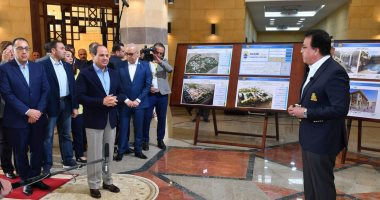 الرئيس السيسي يزور جامعة الملك سلمان بن عبد