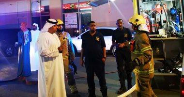 إخماد حريق فى مبنى سكنى بالفجيرة فى الإمارات وإخلاء 42 شقة
