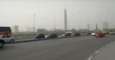 شلل مرورى أعلى كوبرى أكتوبر المتجه من مدينة نصر للمهندسين