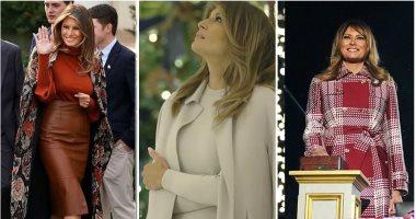أفكار لإطلالات شتوية على ذوق ميلانيا ترامب.. اختارى من دولاب السيدة الأولى