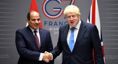 متحدث الرئاسة يستعرض تفاصيل مكالمة السيسي ورئيس وزراء بريطانيا