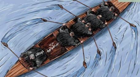 كاريكاتير ..أردوغان عكس التيار