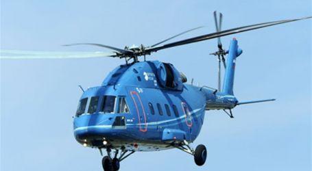 """وزارة الدفاع الروسية تحصل على أول مروحية """"مي-38تي"""""""