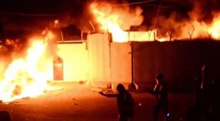 للمرة الثالثة في أسبوع.. حرق القنصلية الإيرانية في النجف