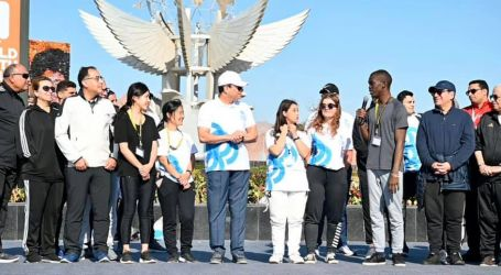الرئيس السيسى: سعدت بالمشاركة فى ماراثون يجمع بين مختلف شباب العالم