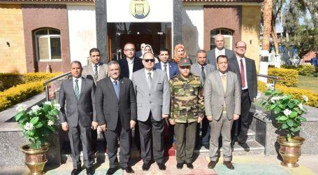 جامعة عين شمس تنظم قافلة تنموية شاملة لأبناء جنوب الصعيد بمحافظة أسيوط بالتعاون مع القوات المسلحة