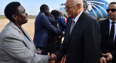 رئيس البرلمان يصل جوبا لبحث العلاقات الثنائية بين مصر وجنوب السودان