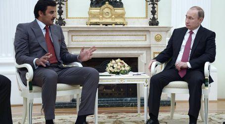 بوتين وتميم بن حمد يبحثان الوضع في ليبيا هاتفيا ويعلنان ضرورة إطلاق عملية التسوية السلمية