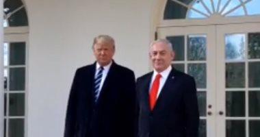 ترامب يستقبل نتنياهو لاستعراض خطة الإدارة الأمريكية للسلام