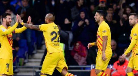 برشلونة يتعثر في ديربي كتالونيا بالتعادل مع إسبانيول 2/2 بالليجا