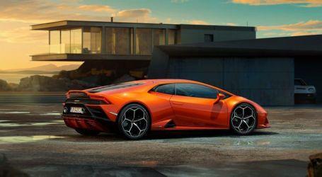 لامبورجيني تقدم نسخة الدفع الخلفي من سيارة هوراكان إيفو