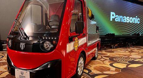 أحدث تقنيات عالم الإطفاء …سيارة صغيرة تعمل بالبطارية للمساحات الضيقة