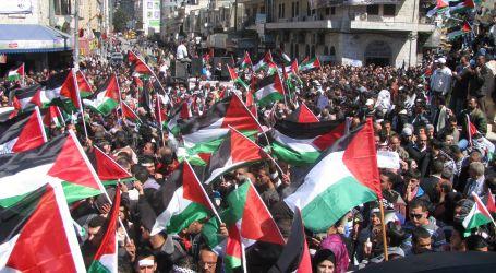 """مسيرات غاضبة فى الضفة الغربية تنديدا ورفضا لـ """" لخطة السلام الأمريكية"""""""