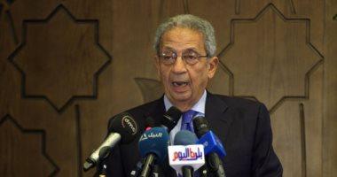 عمرو موسى : موقف مصر من الشأن الليبى يدعم أمن واستقرار المنطقة