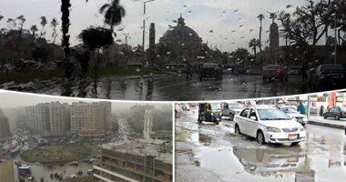 أمطار رعدية ومتوسطة بالقاهرة وشمال الصعيد والحرارة غدا صفر بسانت كاترين