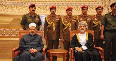 سلطان عمان يستقبل شيخ الأزهر للتعزية فى وفاة السلطان قابوس