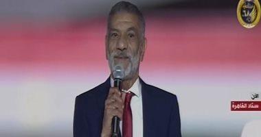 """الفنان سيد رجب فى احتفالية القبائل المصرية: """"العيلة"""" هى وطننا مصر"""