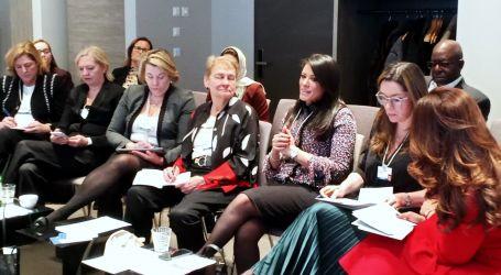 وزيرة التعاون الدولى من دافوس: نعمل على تحقيق المساواة وتمكين المرأة