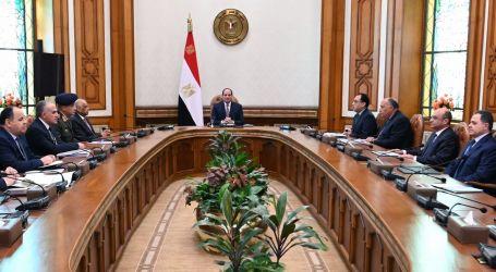 الرئيس يرأس مجلس الأمن القومى ويحدد إجراءات مواجهة تهديدات التدخل العسكرى بليبيا