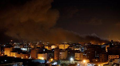 إسرائيل تشن غارات على موقع غربي خان يونس جنوب قطاع غزة