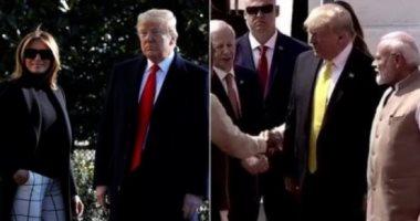 الرئيس الأمريكى يوقع صفقة معدات عسكرية مع الهند بقيمة 3 مليار دولار