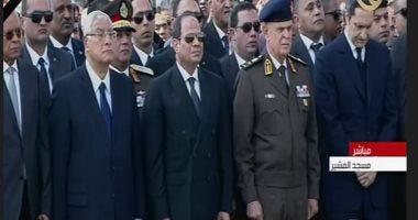 عبدالرحيم علي: جنازة مبارك العسكرية بمشاركة السيسي رسالة للعالم بعظمة ووفاء المصريين